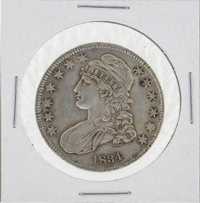 1834 Capped Bust Half Dollar Coin