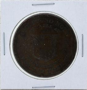 1811 England Penny Token Birmingham Cartwheel Penny
