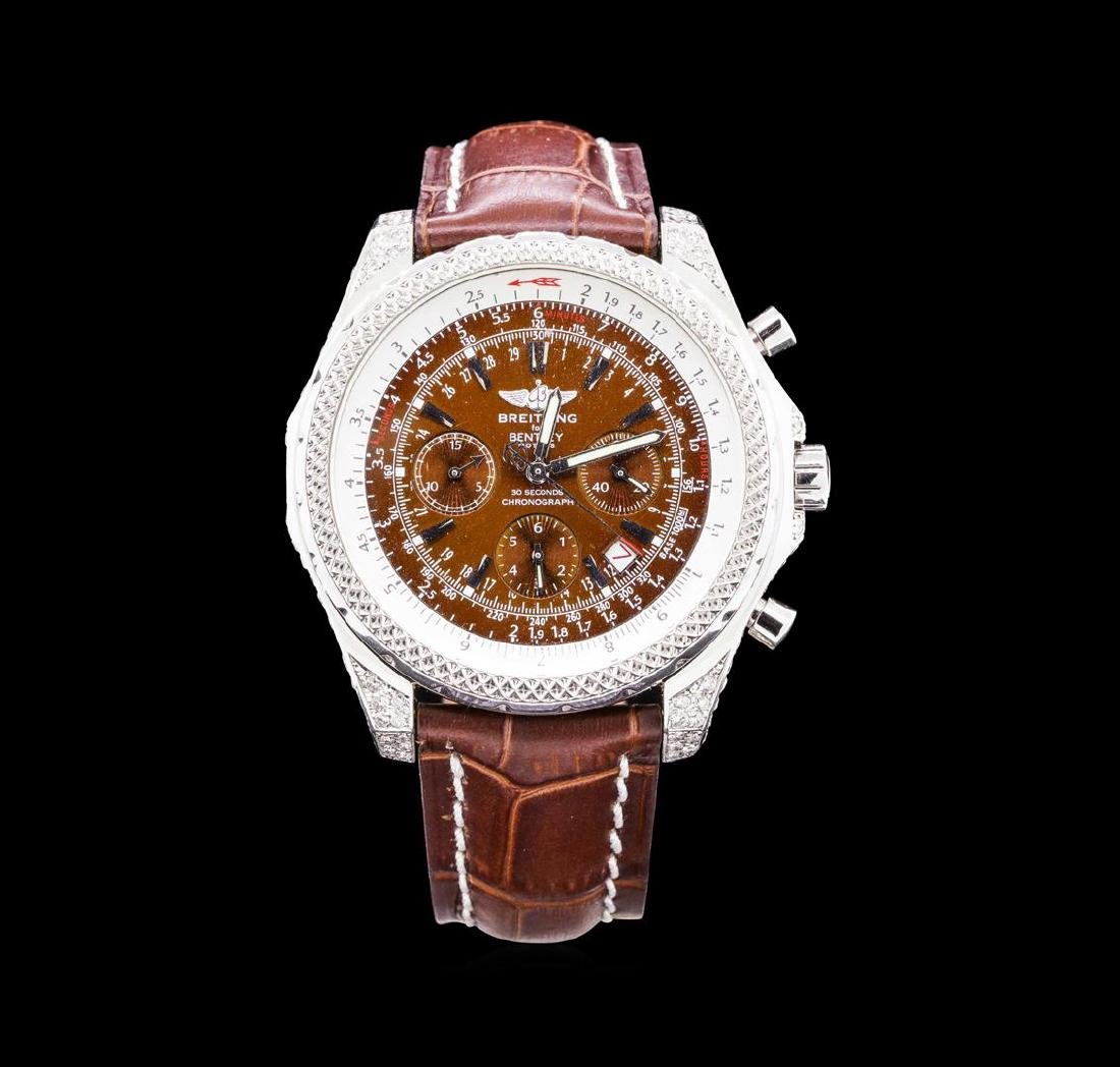Breitling for Bentley Motors Watch with Leather