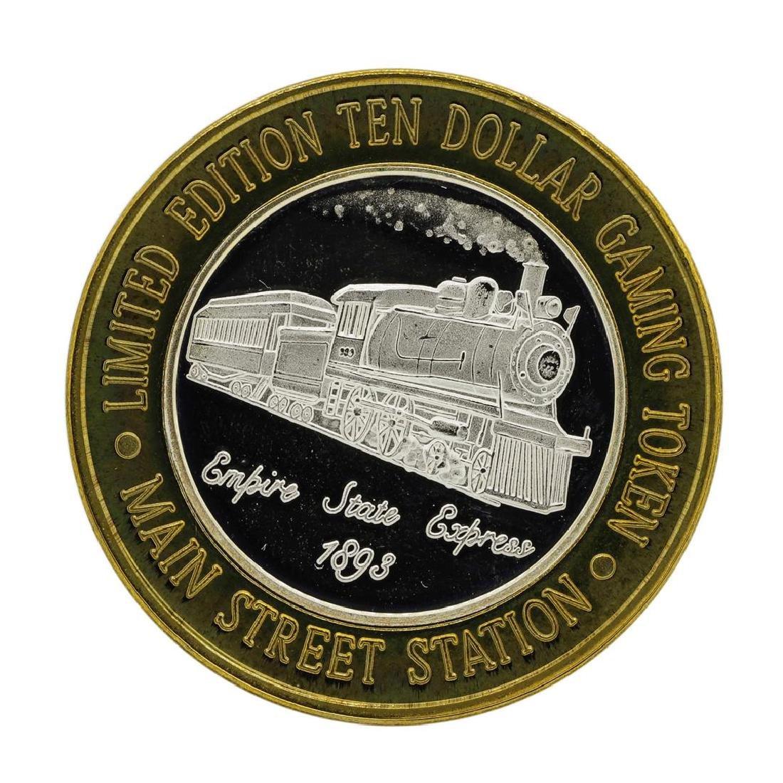 .999 Silver Main Street Station Las Vegas, NV $10