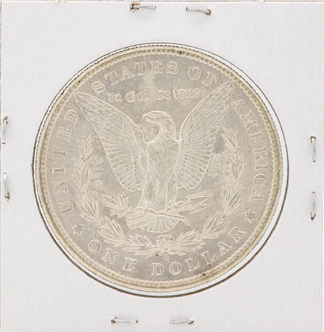 1901-S $1 Morgan Silver Dollar Coin - 2