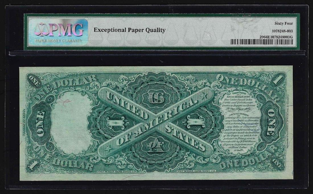 1880 $1 Legal Tender Note PMG Choice Uncirculated 64EPQ - 2