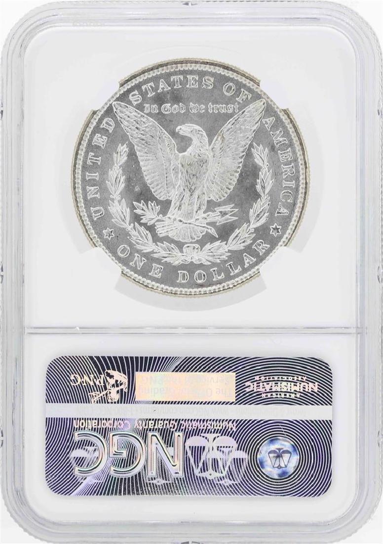 1885 $1 Morgan Silver Dollar Coin NGC MS66 - 2