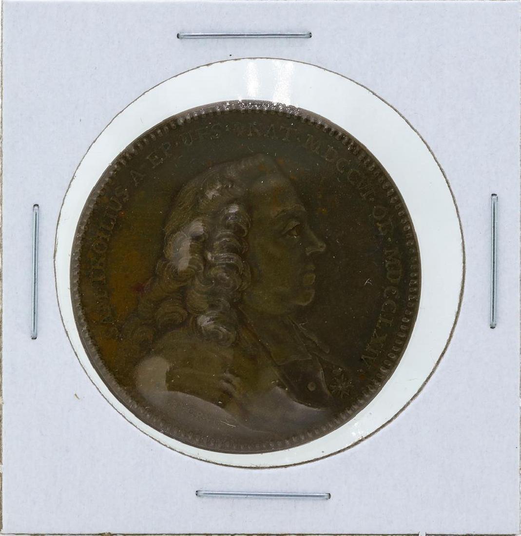 1700's Sweden Medal Samuel Troilus Archbishop of
