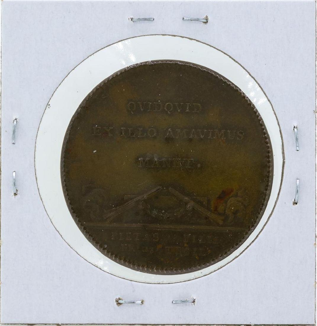 1700's Sweden Medal Samuel Troilus Archbishop of - 2