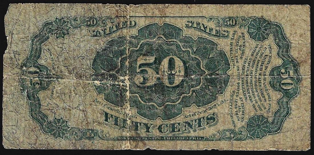 1875 Fifty Cents Fifth Issue Fractional Note - 2