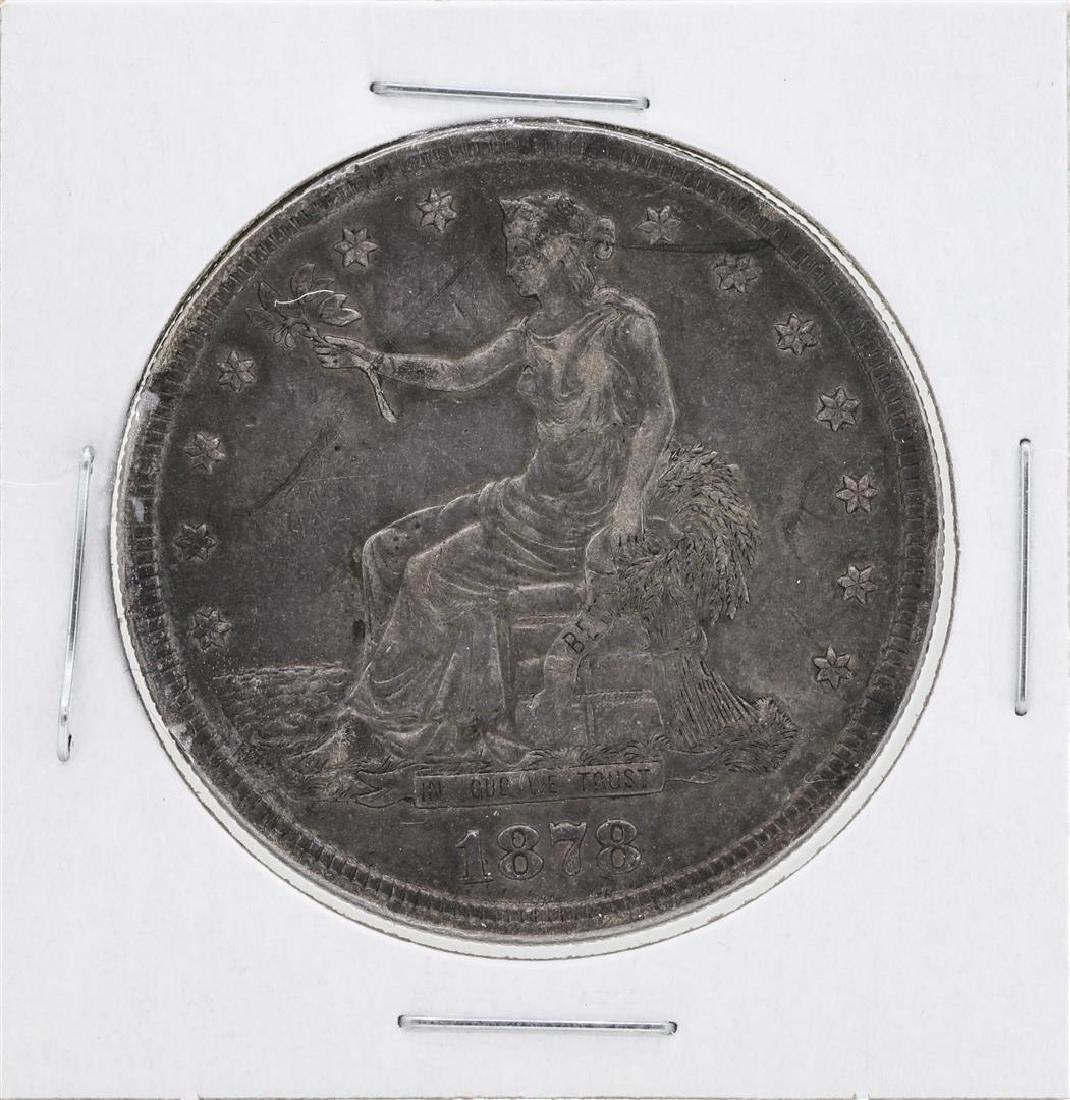 1878-S $1 Silver Trade Dollar Coin
