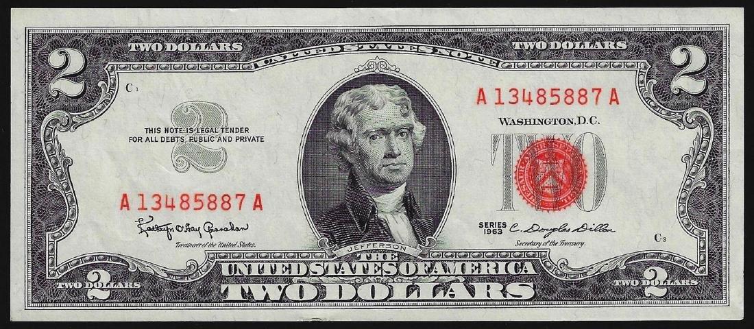 1963 $2 Legal Tender Note