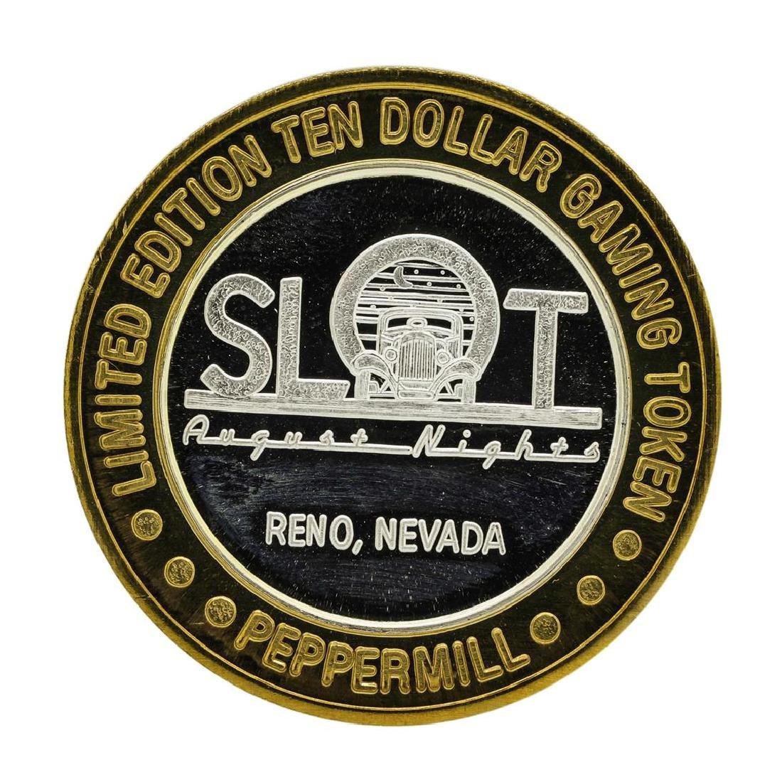.999 Silver Peppermill Hotel Casino Reno, NV $10 Casino