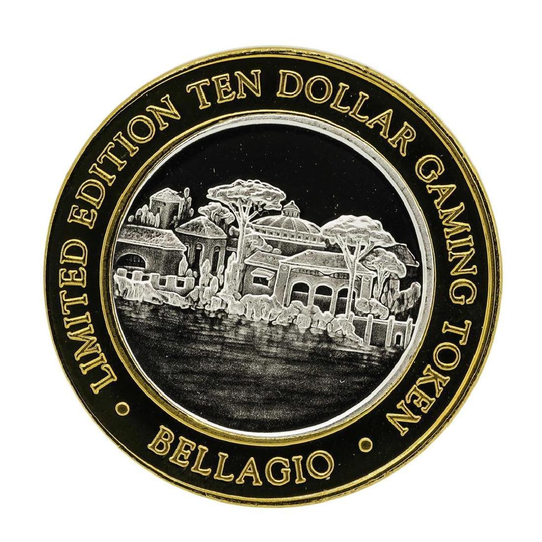 .999 Silver Bellagio Las Vegas, Nevada $10 Casino