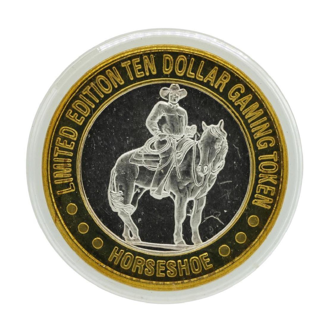 .999 Silver Binion's Horseshoe Las Vegas, NV $10 Casino