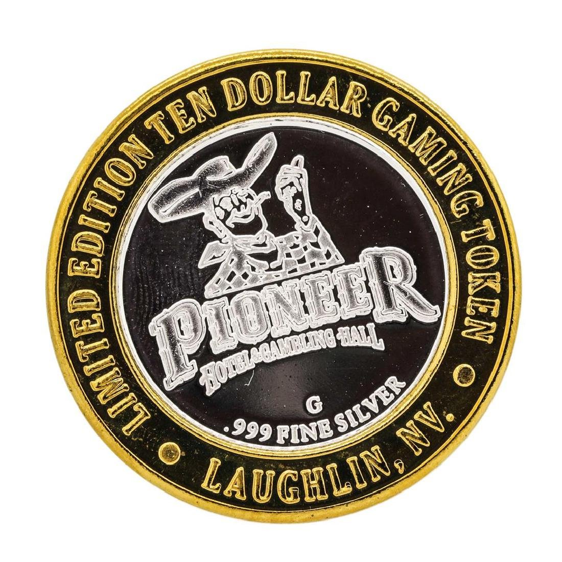 .999 Silver Pioneer Hotel & Gambling Hall $10 Casino - 2