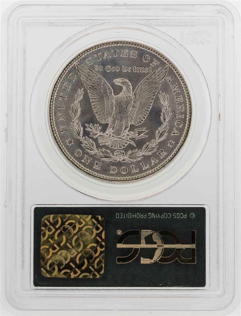 1886 $1 Morgan Silver Dollar Coin PCGS MS65 PQ - 2