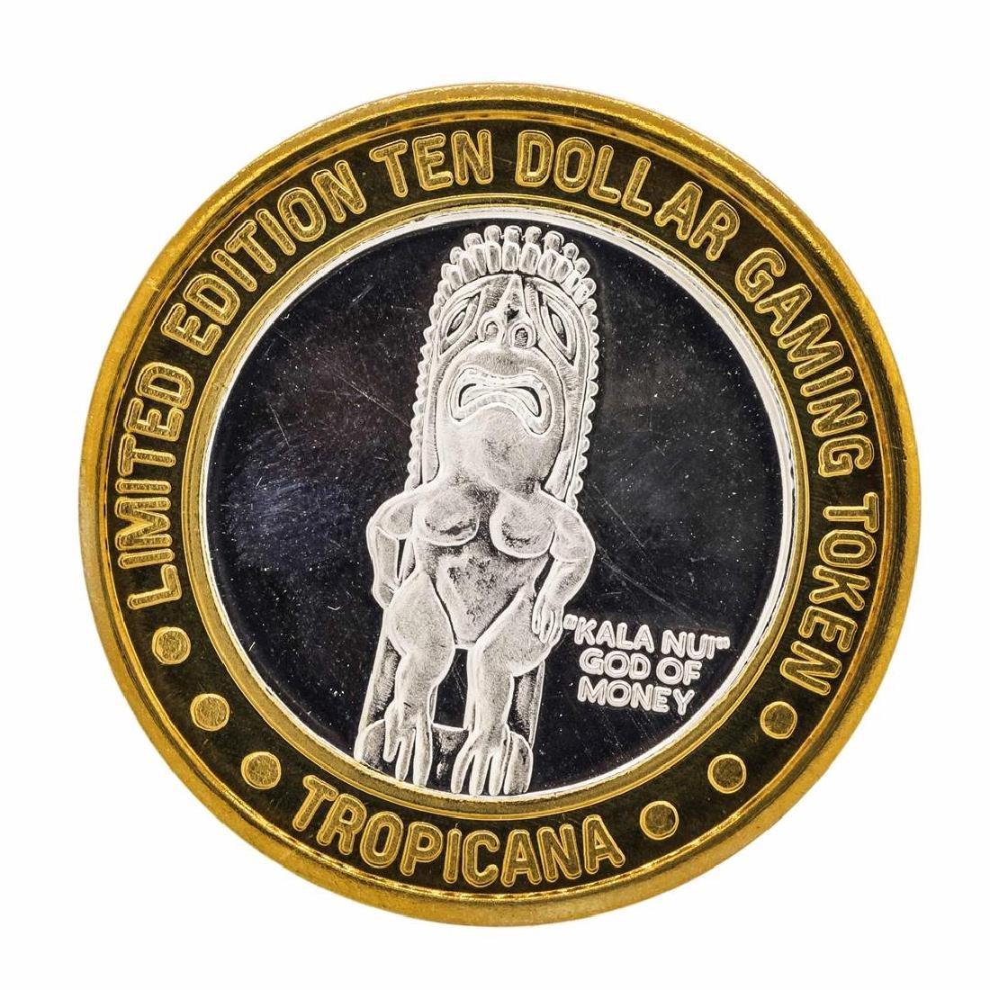 .999 Fine Silver Tropicana Las Vegas $10 Casino Limted