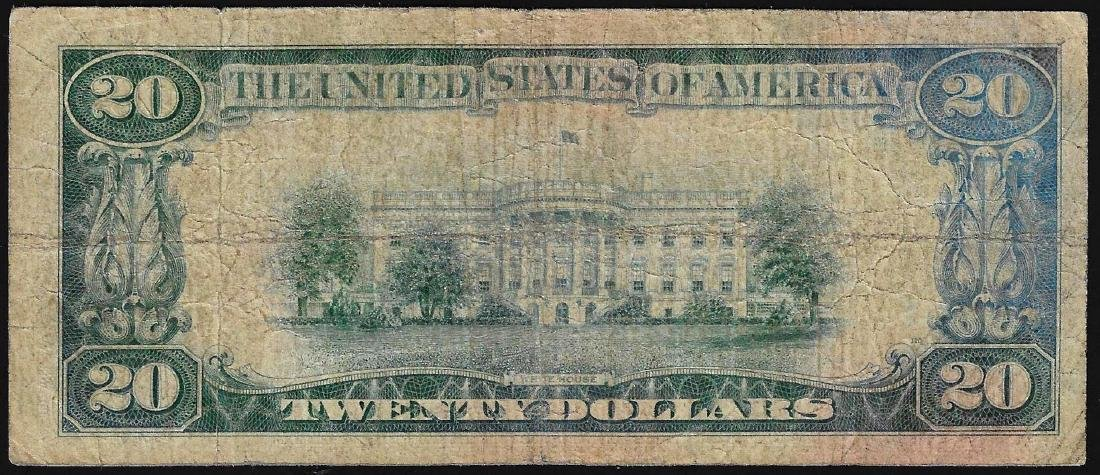 1928 $20 Gold Certificate Note - 2