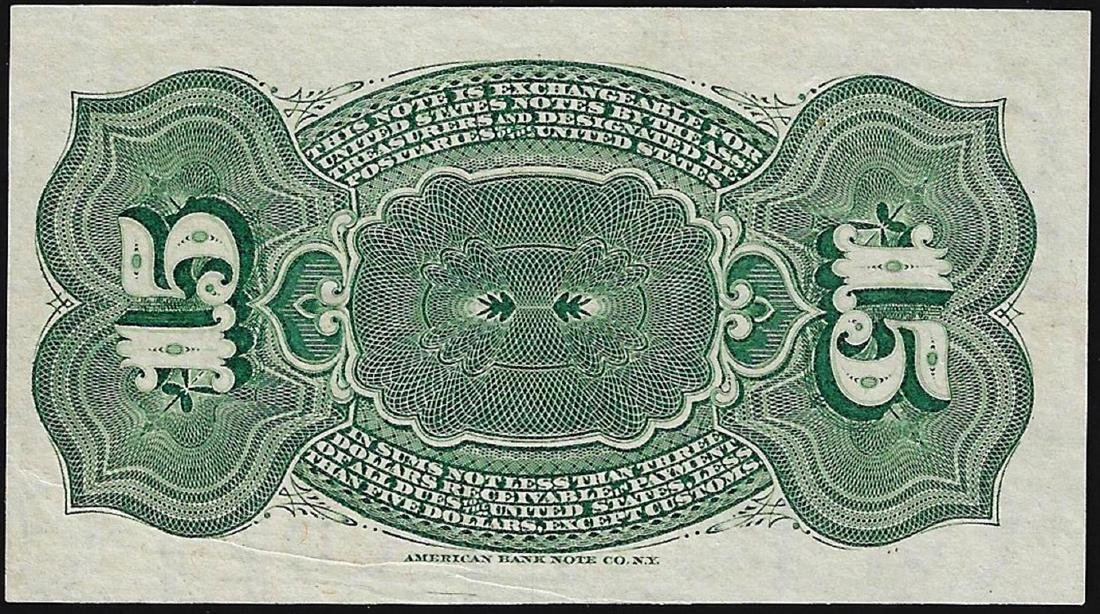 1863 Fifteen Cents Fourth Issue Fractional Note - 2