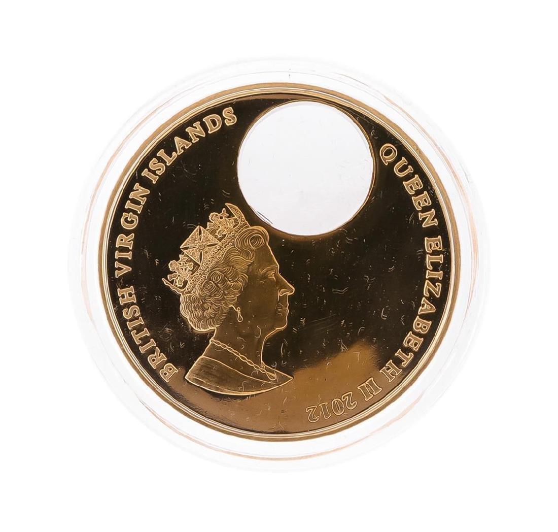 2012 $2 Titanic Night British Virgin Islands Bronze - 3