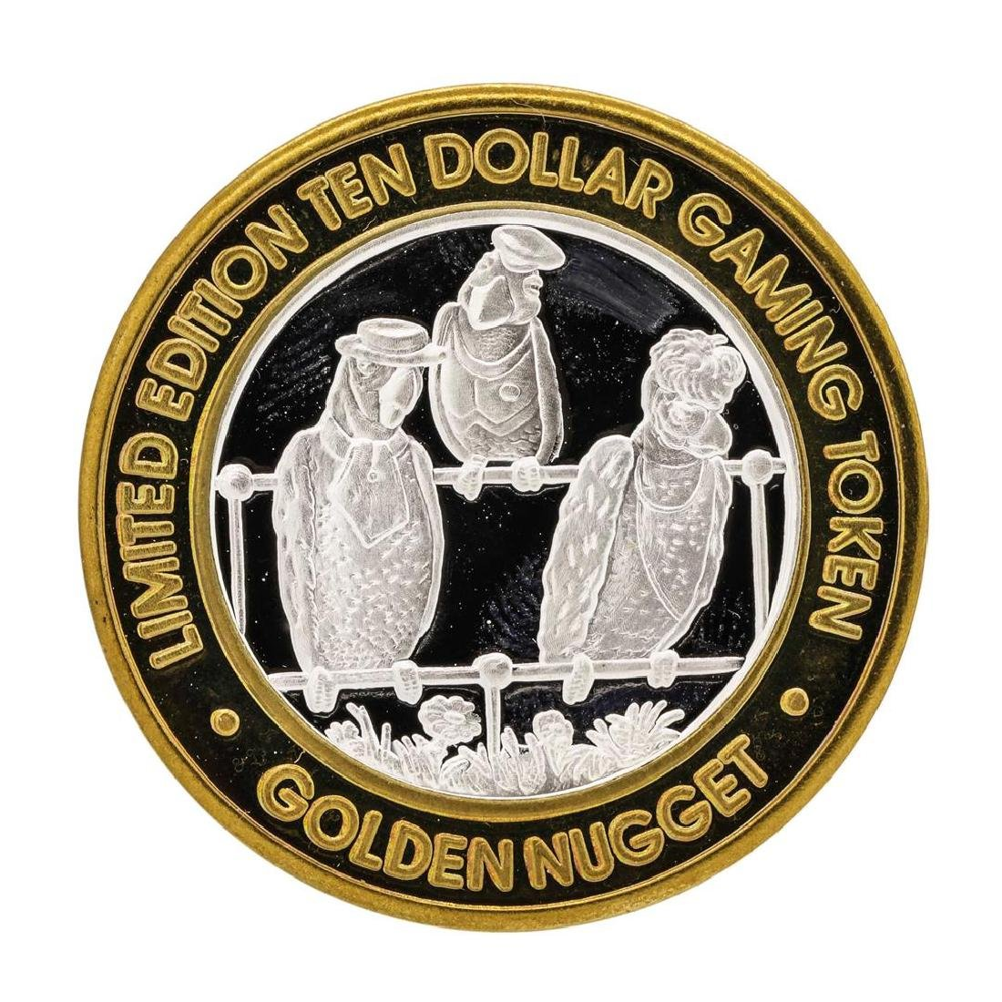 .999 Silver Golden Nugget Laughlin $10 Casino Limited