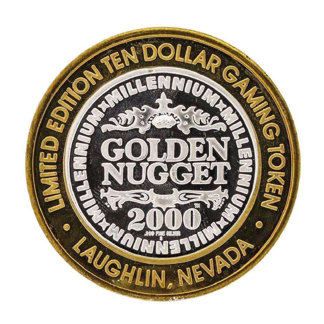 .999 Silver Golden Nugget Laughlin $10 Casino Limited - 2