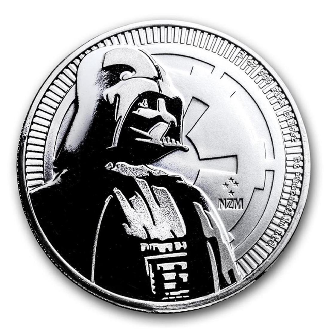 2017 Niue $2 Star Wars Darth Vader Silver Coin