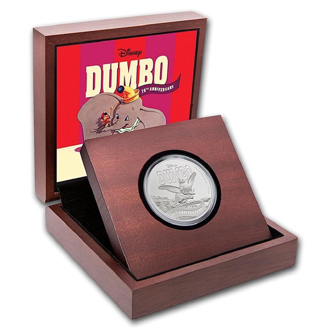 2016 $2 Disney Dumbo .999 Fine Silver Proof Coin - 2