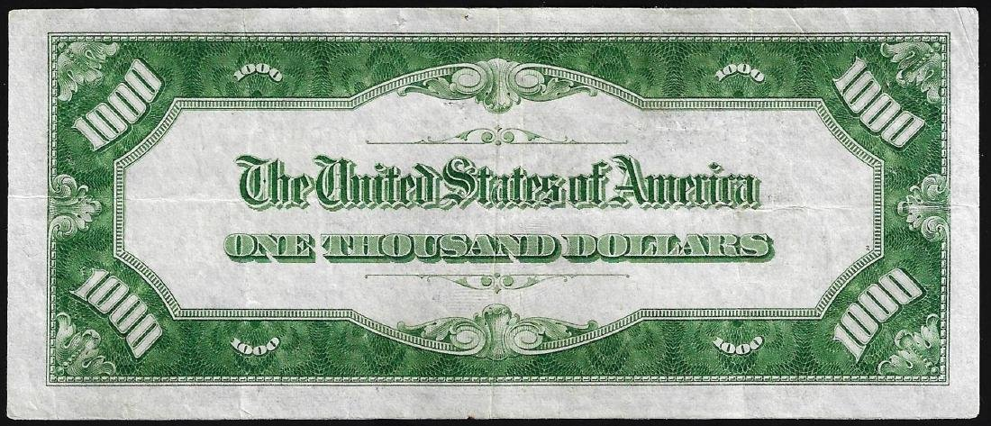 1934 $1000 Federal Reserve Note New York - 2