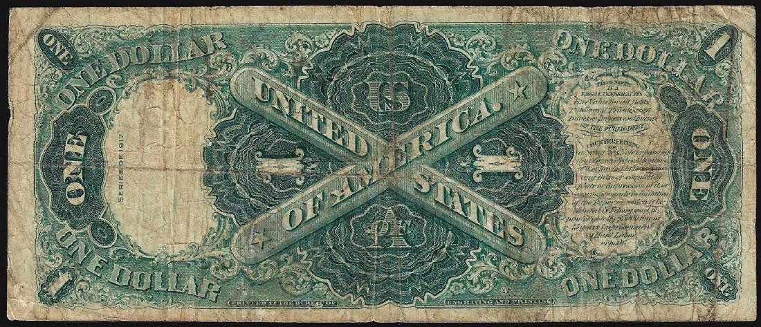 1917 $1 Legal Tender Note - 2