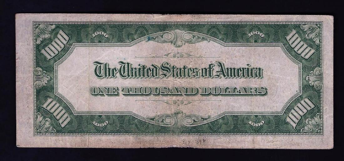 1934A $1,000 Federal Reserve Note Atlanta - 2