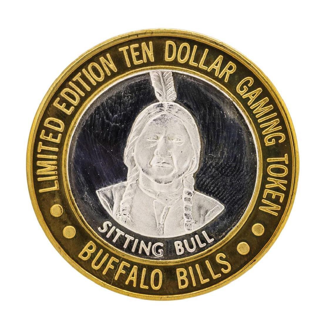 .999 Silver Buffalo Bills Resort & Casino Jean, NV $10