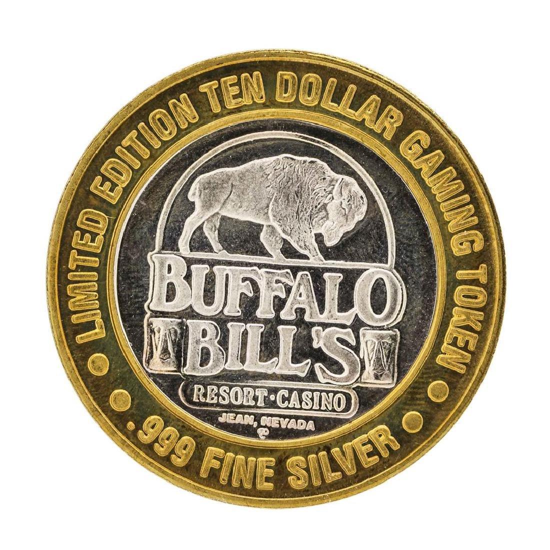 .999 Silver Buffalo Bills Resort & Casino Jean, NV $10 - 2