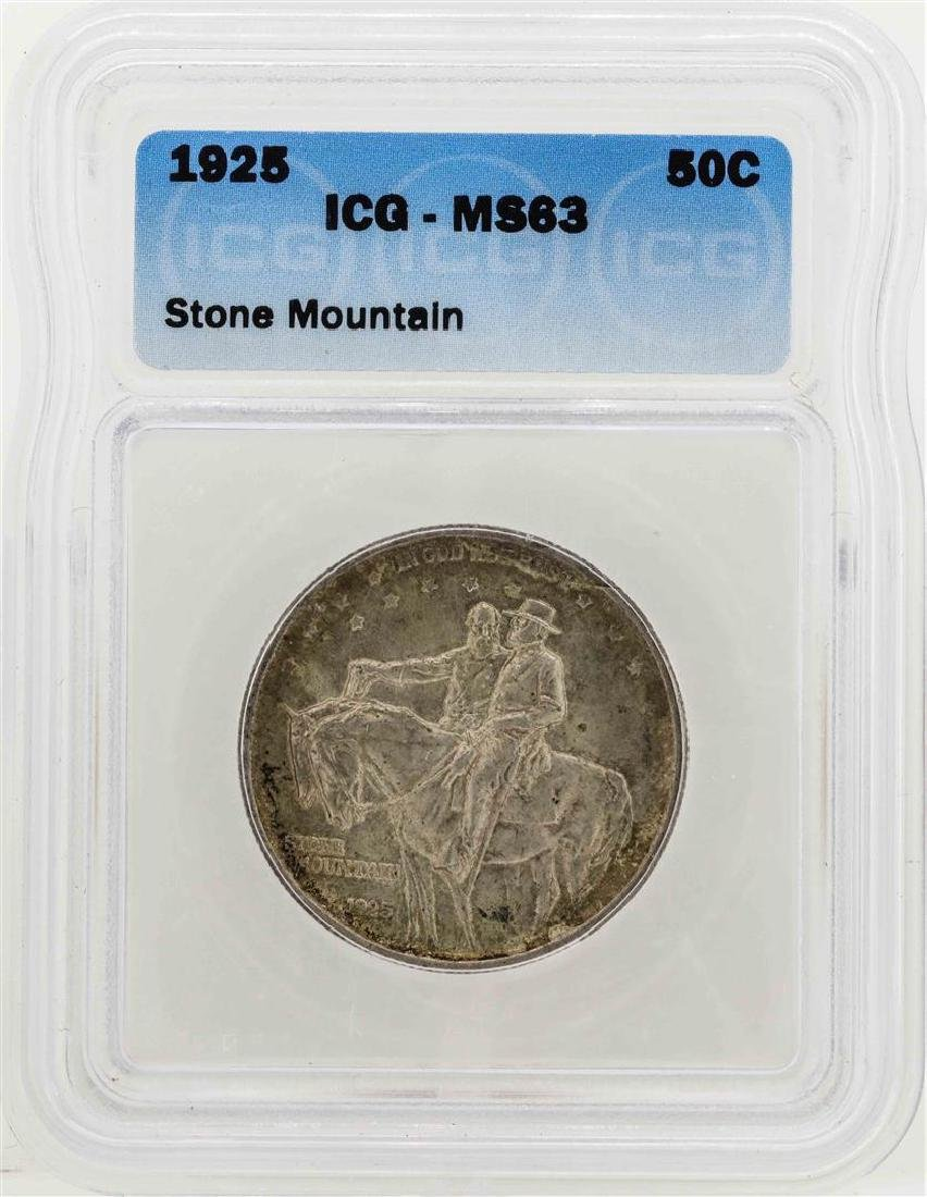 1925 Stone Mountain Memorial Commemorative Half Dollar