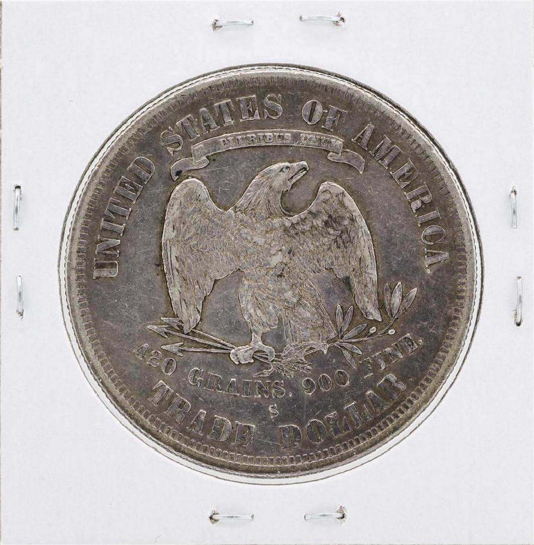 1877-S $1 Silver Trade Dollar Coin - 2
