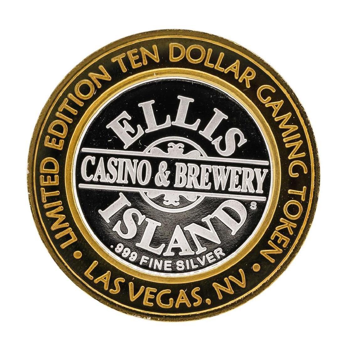 .999 Silver Ellis Island Casino & Brewery Las Vegas $10 - 2