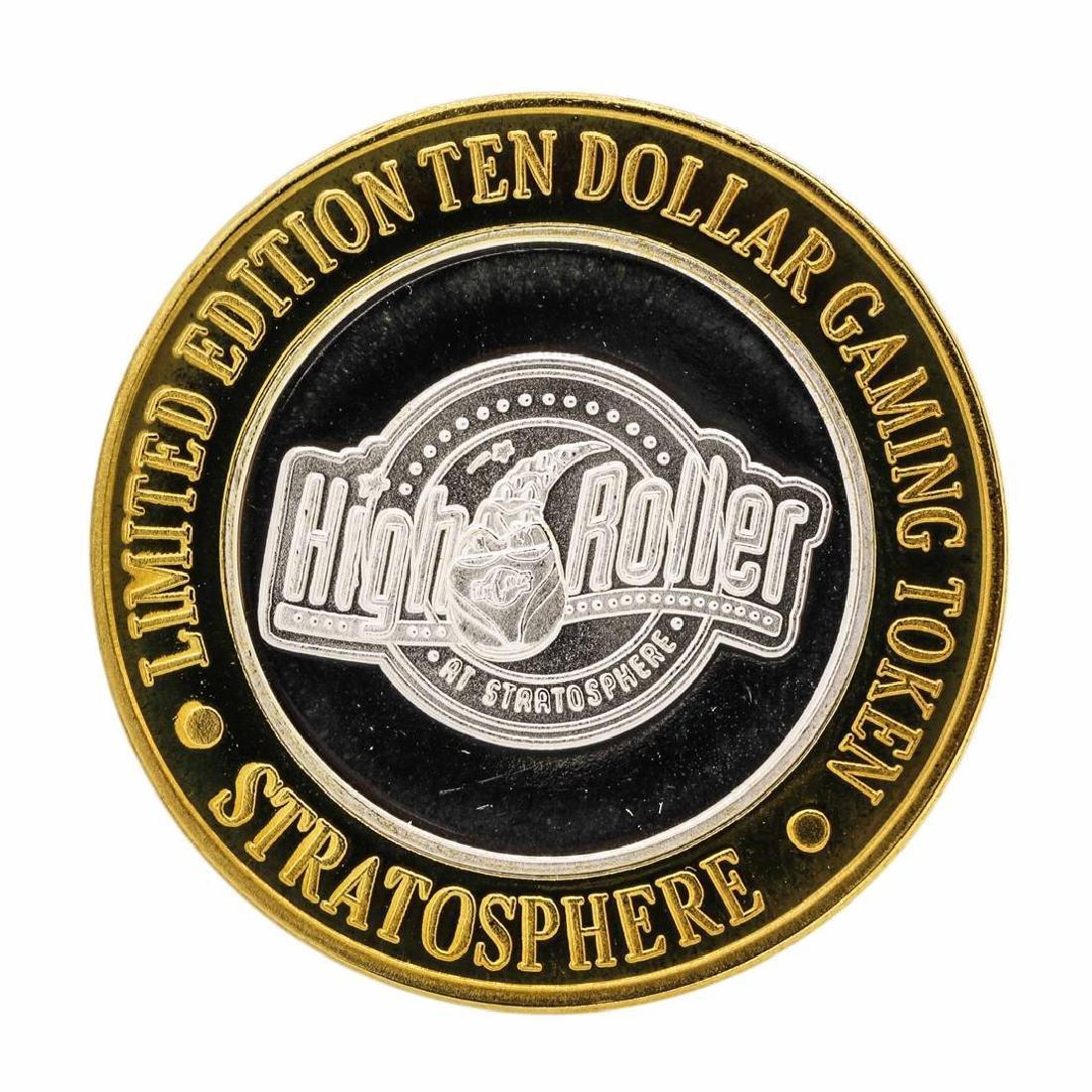 .999 Silver Stratosphere Las Vegas, NV $10 Casino
