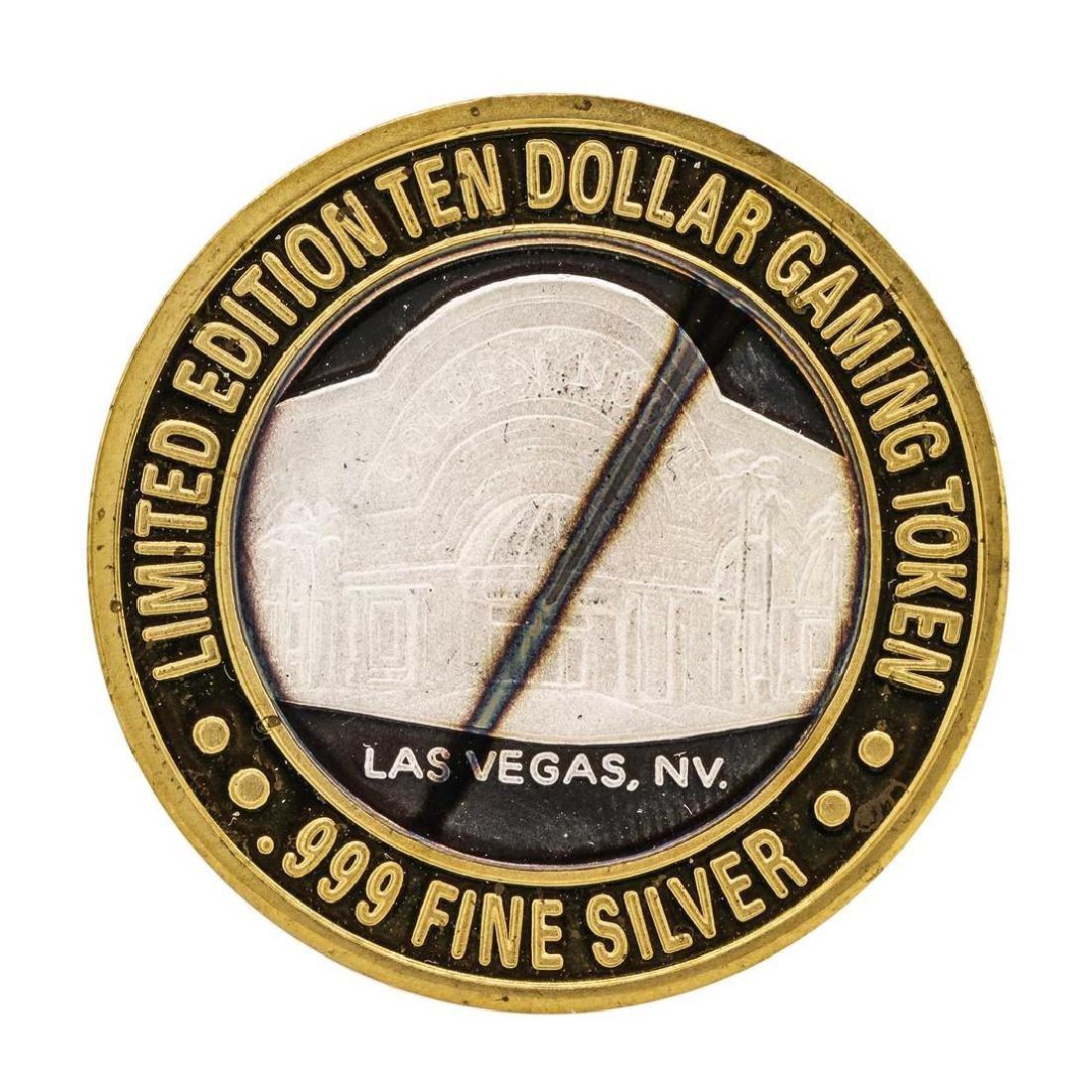 .999 Silver Golden Nugget Las Vegas $10 Casino Limited
