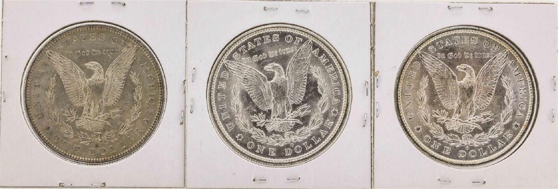 Set of 1881-O to 1883-O $1 Morgan Silver Dollar Coins - 2