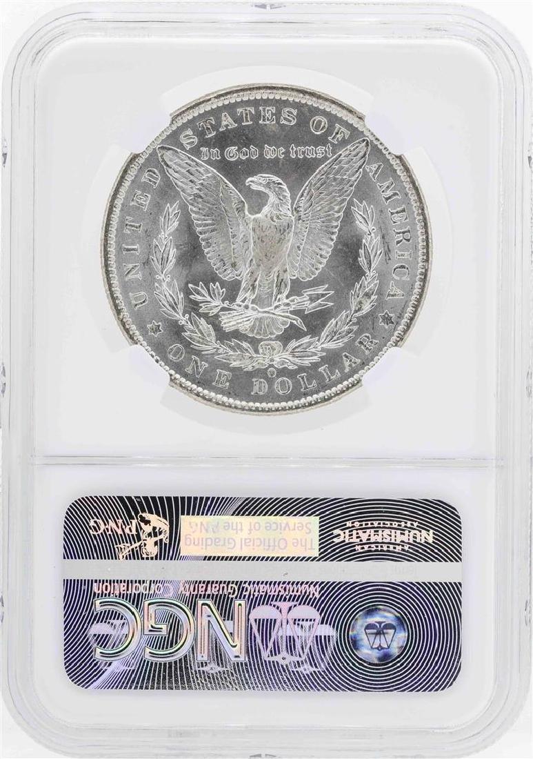 1884-O $1 Morgan Silver Dollar Coin NGC MS64 - 2