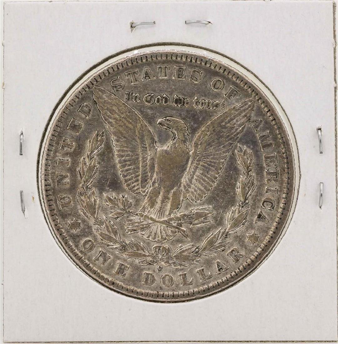 1902-S $1 Morgan Silver Dollar Coin - 2