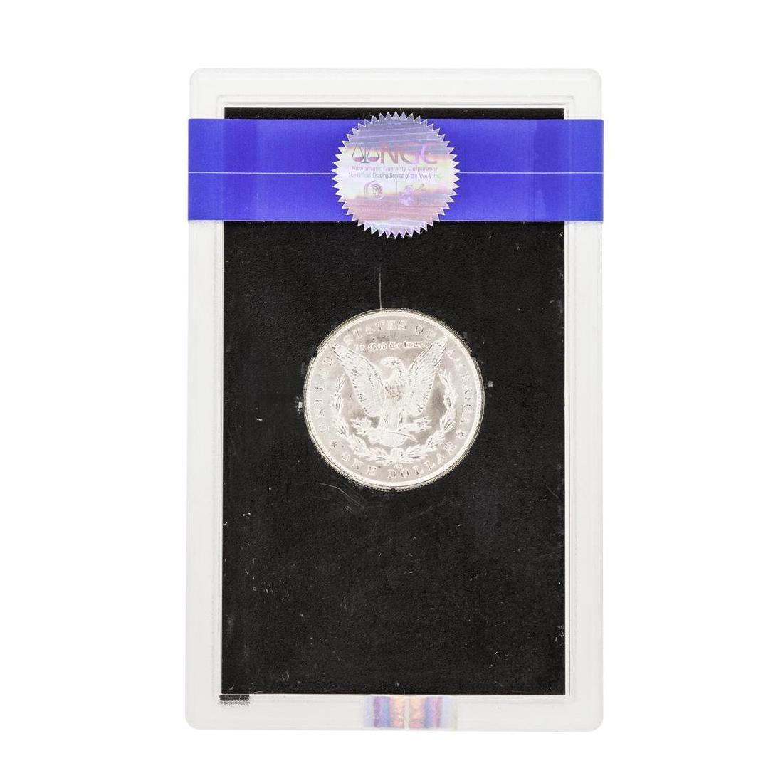 1883-CC $1 Morgan Silver Dollar Coin NGC MS64 GSA - 2
