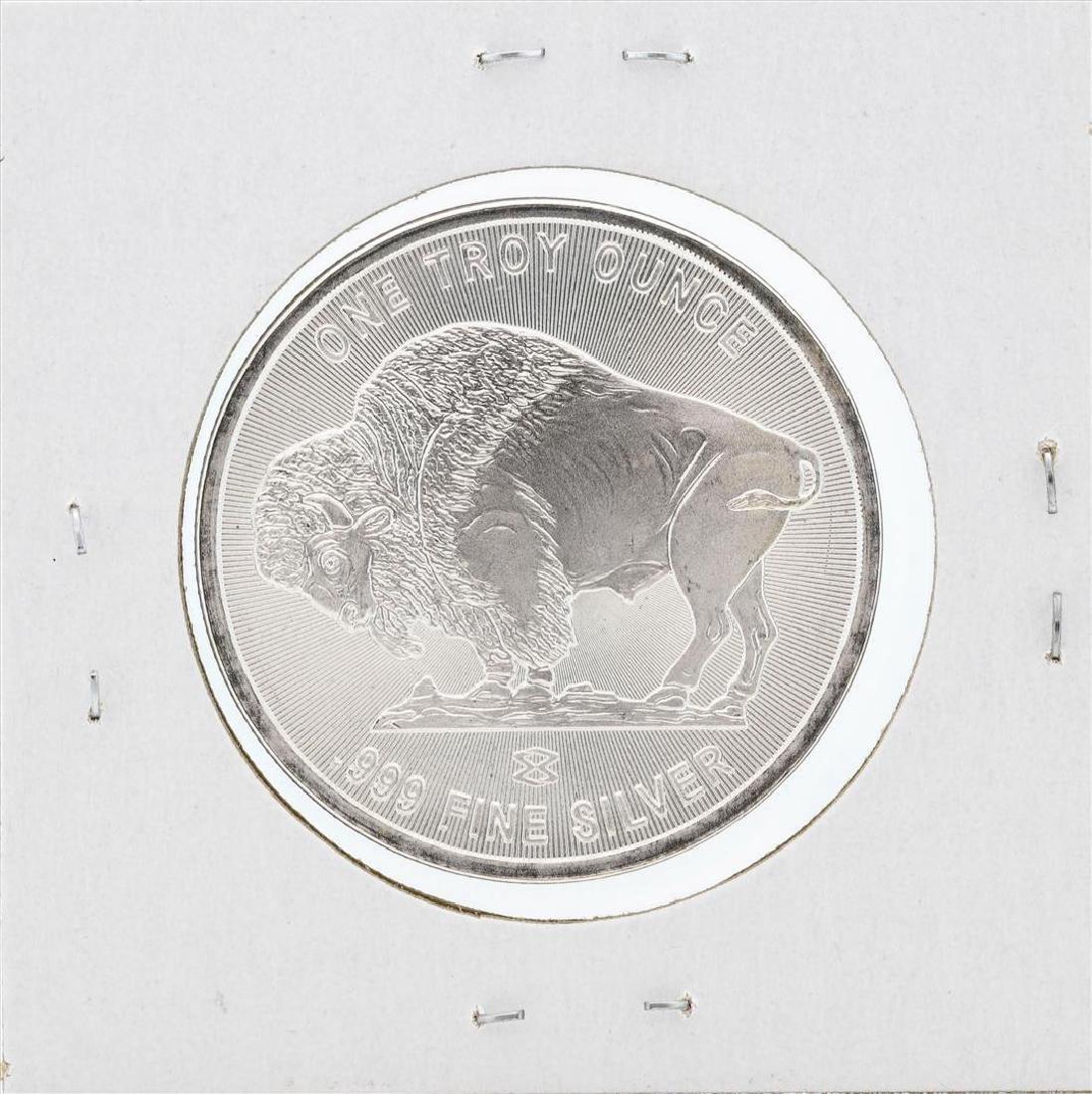1 oz .999 Fine Silver Buffalo Round