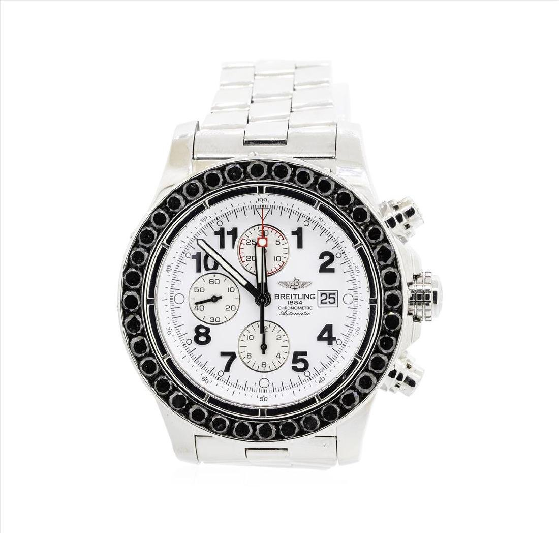 Breitling Super Avenger Stainless Steel Watch with