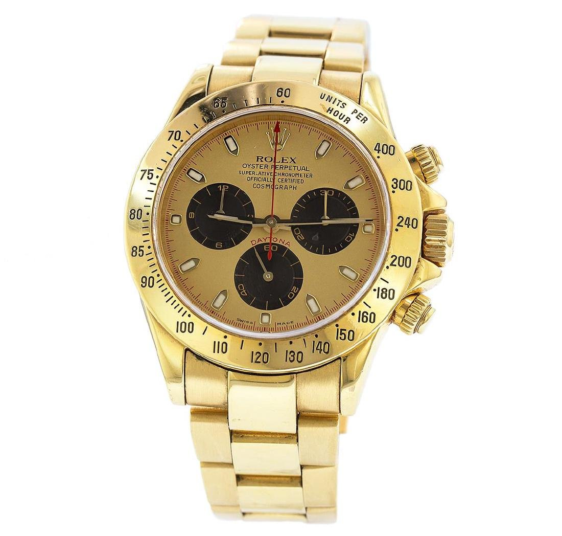 18KT Yellow Gold Rolex Daytona Paul Newman Chronograph