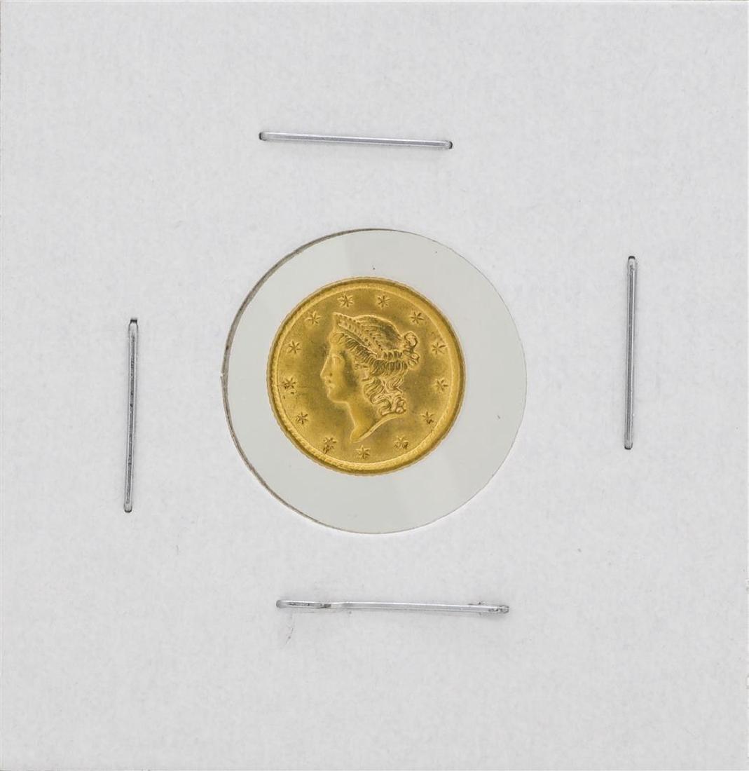 1854 $1 Liberty Head Dollar Gold Coin