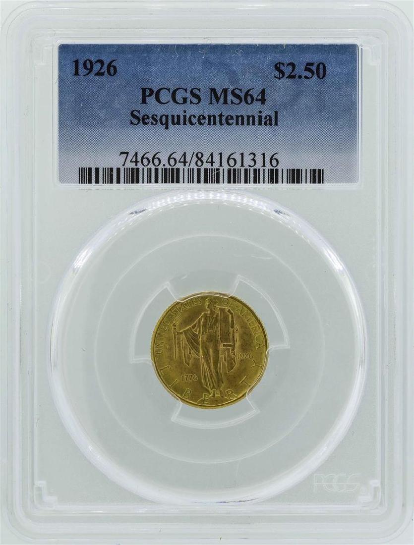 1926 $2 1/2 Sesquicentennial Quarter Eagle
