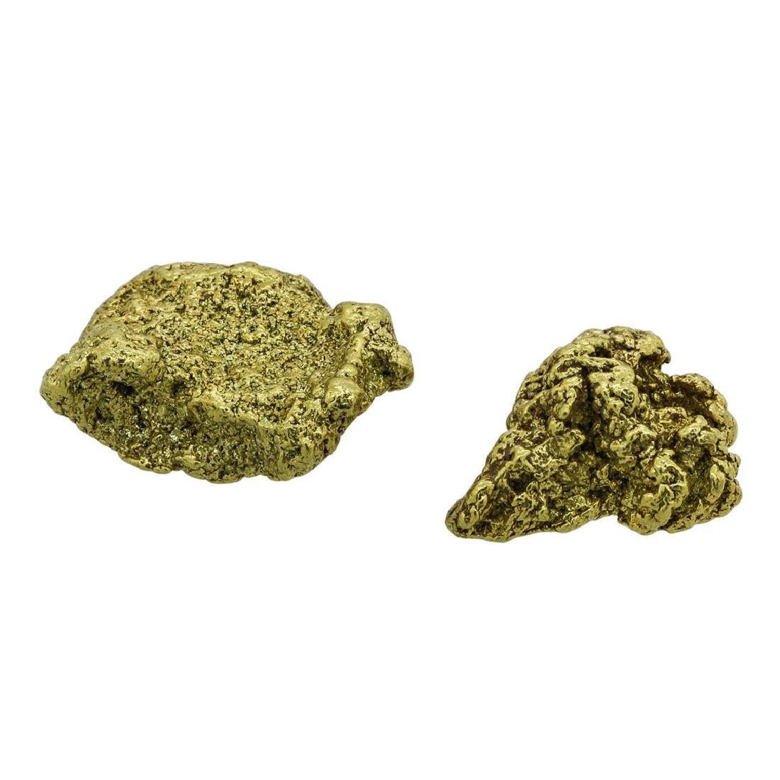 Lot of (2) Australian Gold Nuggets 5.24 Grams