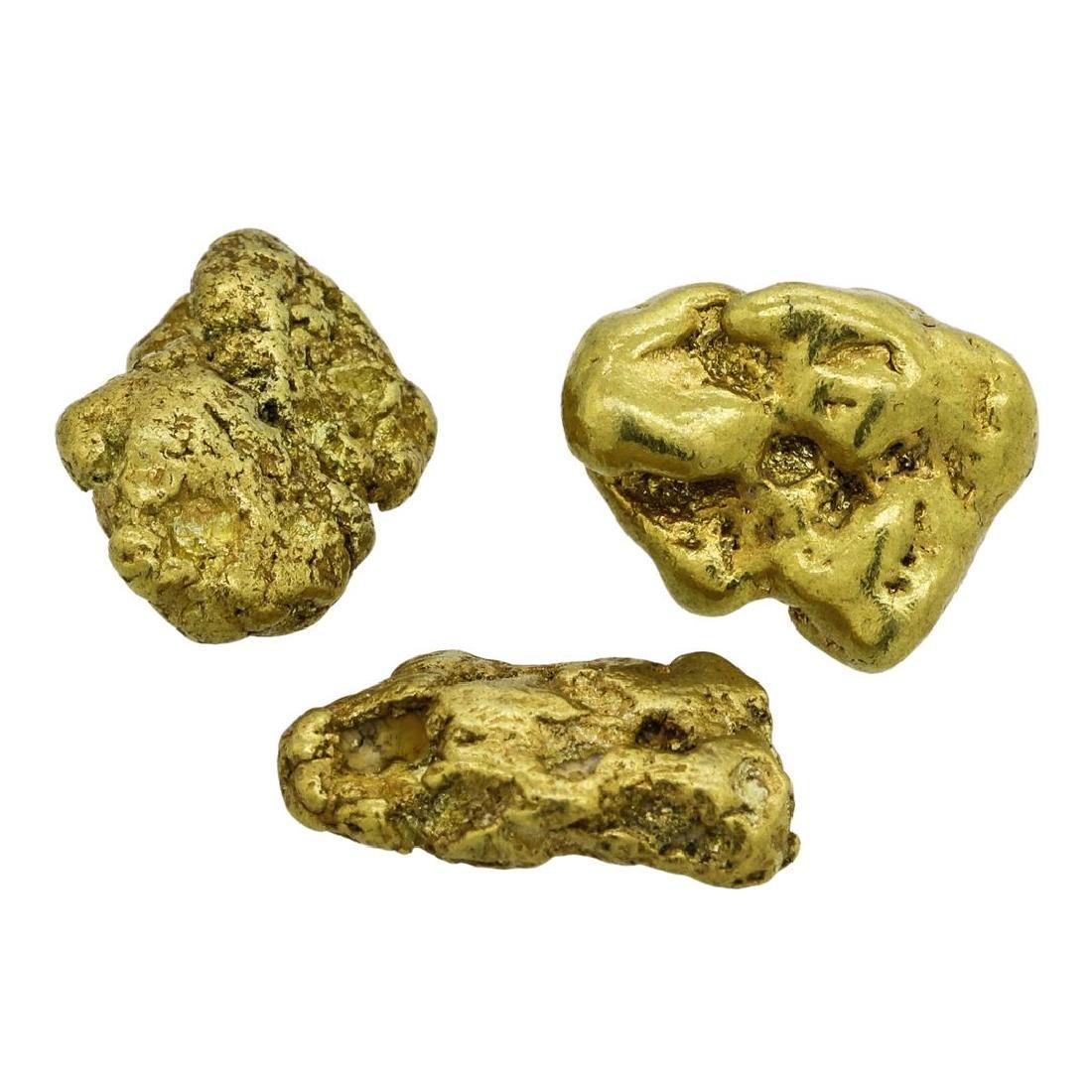 Lot of (2) Alaskan Gold Nuggets 13.14 Grams