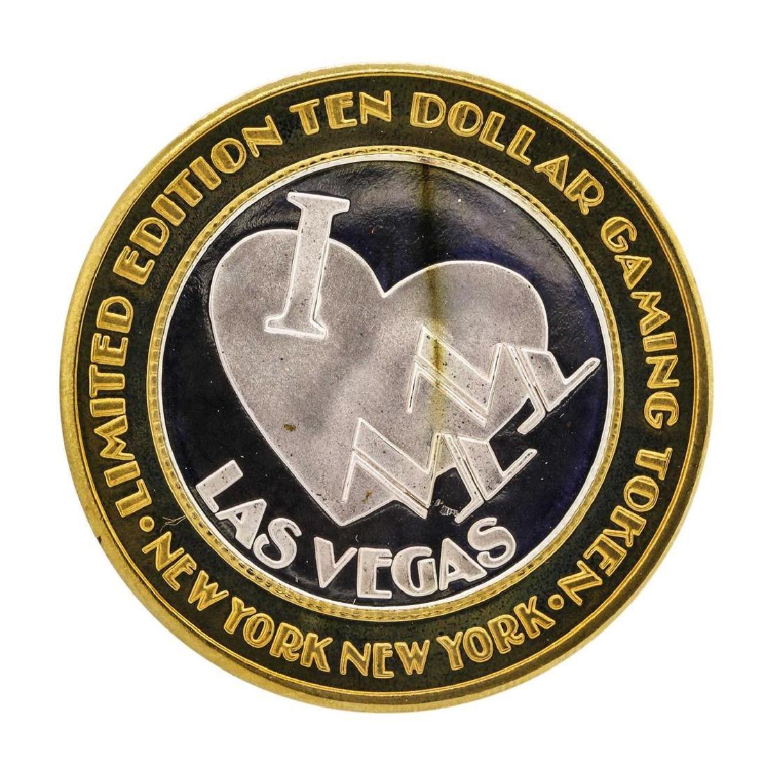 .999 Silver New York New York Hotel & Casino $10
