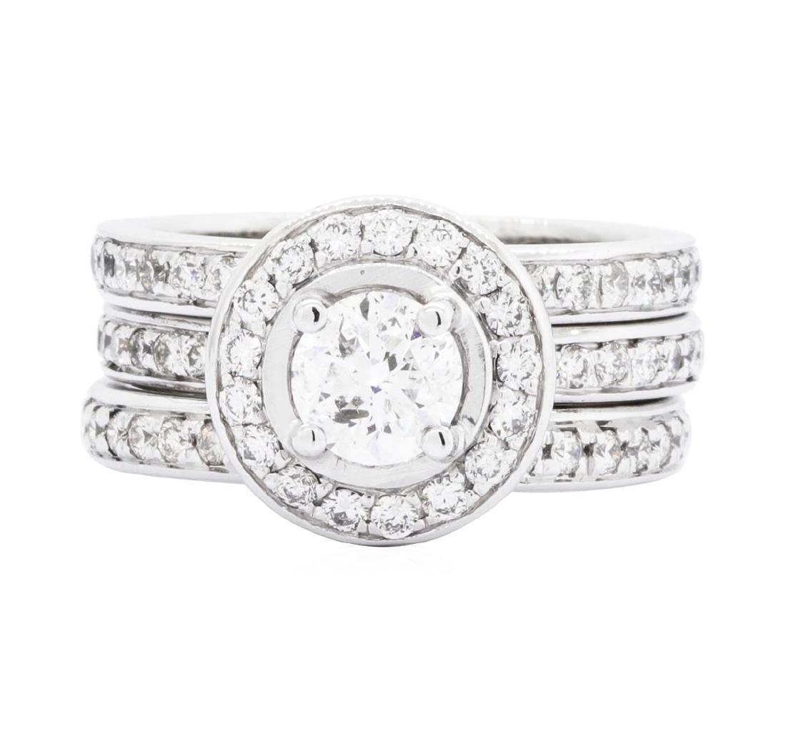 14KT White Gold 2.33ctw Diamond Ring