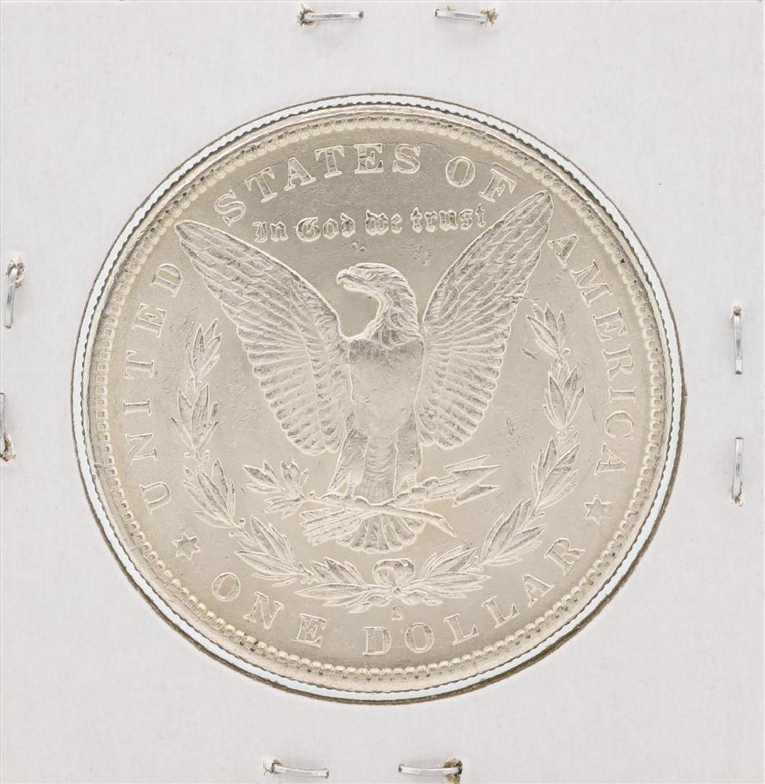 1900-S $1 Morgan Silver Dollar Coin - 2