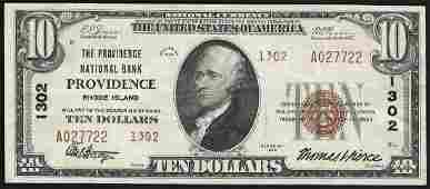 1929 10 Providence National Bank of Rhode Island